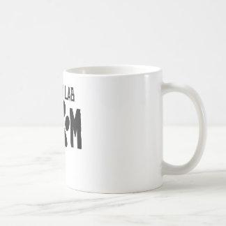 Yellow Lab Mom Coffee Mugs