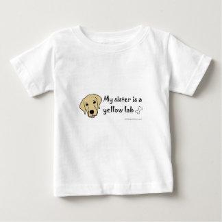 yellow lab-more dog breeds tee shirt