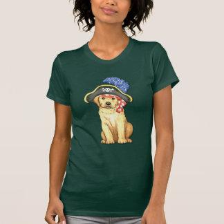 Yellow Lab Pirate T Shirt