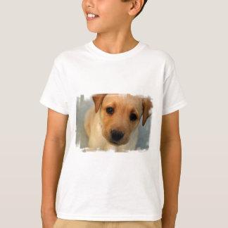 Yellow Lab Puppy Kid's T-Shirt