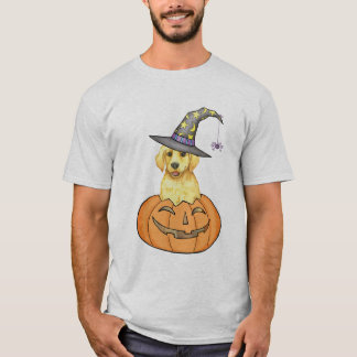 Yellow Lab Witch T-Shirt