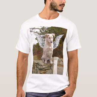 Yellow Lab with Angel wings T-Shirt