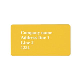 Yellow Label