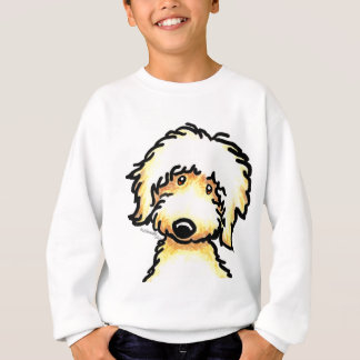 Yellow Labradoodle Art Sweatshirt
