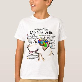Yellow Labrador Brain Atlas T-Shirt