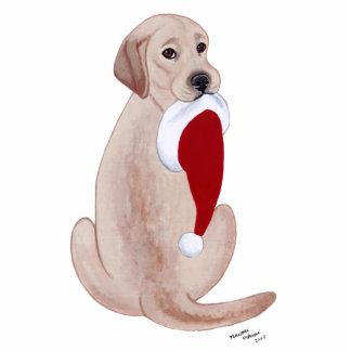 Yellow Labrador Christmas Ornament Photo Sculpture Decoration