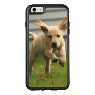Yellow Labrador Puppies Running OtterBox iPhone 6/6s Plus Case