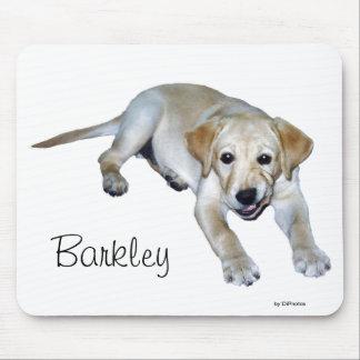 Yellow Labrador Puppy Mousepad