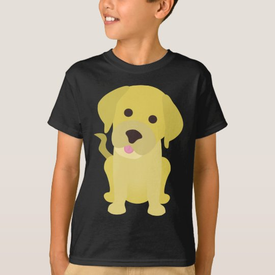 Yellow Labrador Puppy T-Shirt