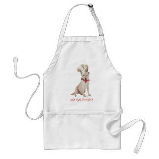 Yellow Labrador Retriever Cooking Apron