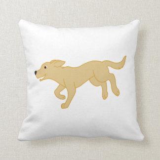 Yellow Labrador Retriever Cushion