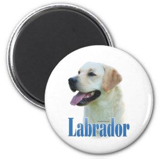 Yellow Labrador Retriever Name - Magnet