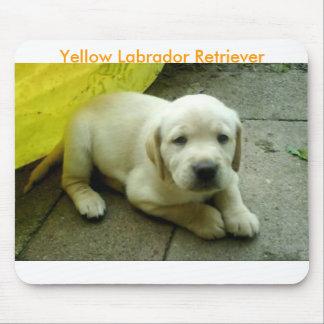 Yellow Labrador Retriever Puppy Mouse Mat