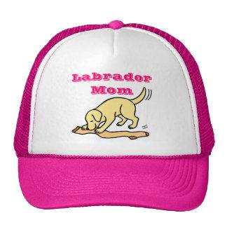 Yellow Labrador Stocking Cartoon Cap