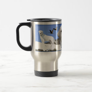 Yellow Labrador tribute Travel Mug