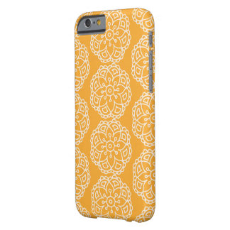 Yellow lace flower phone case