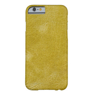 Yellow leather barely there iPhone 6 case