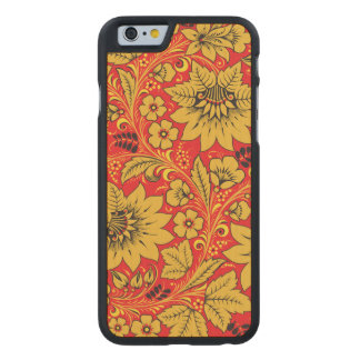 Yellow Leaves Carved® Maple iPhone 6 Slim Case