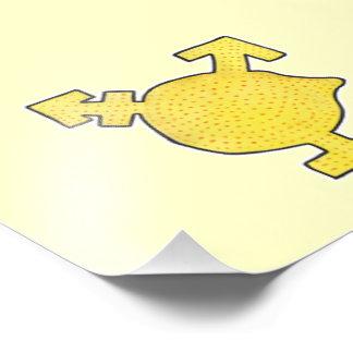 Yellow Lemon Transgender Symbol Photograph