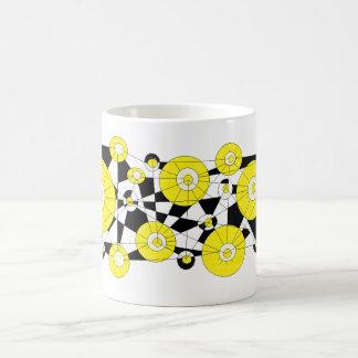 yellow let us lemons coffee mug