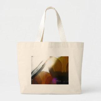 Yellow Light Jumbo Tote Bag