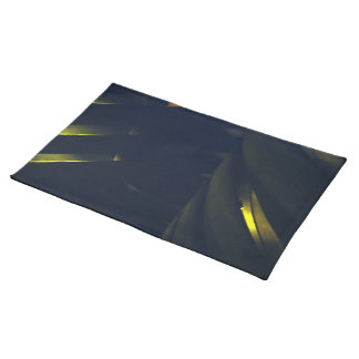 Yellow Light Show Placemat