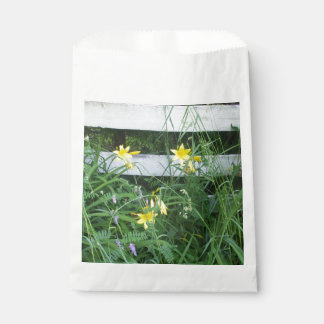 Yellow Lilies  by Fence Favour Bags