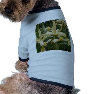 Yellow Lilies Dog T Shirt