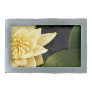 Yellow Lily Belt Buckle
