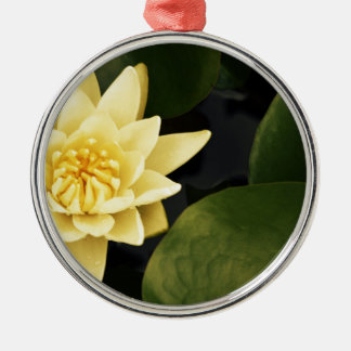 Yellow Lily Christmas Ornament
