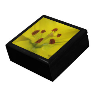 Yellow Lily Floral Gift Box