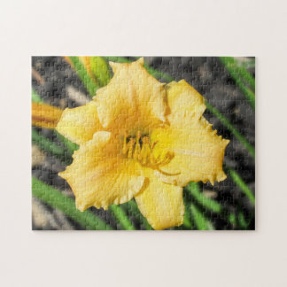 Yellow Lily Puzzle