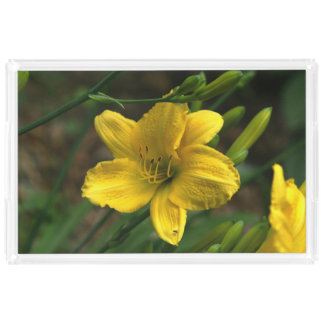Yellow Lily, Vanity Tray.