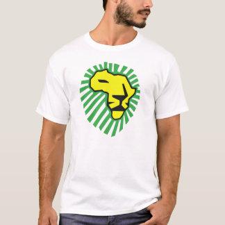Yellow Lion Green Mane Waka Waka Africa Shirt
