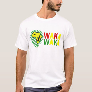 Yellow Lion Green Mane Waka Waka Shirt