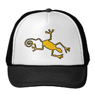 yellow lizzard cap