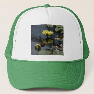 Yellow Lotus Waterlilies Hat