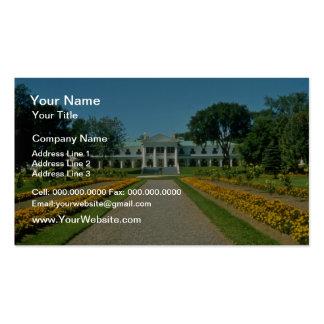 yellow Lt Governor s estate Quebec City Canada Business Cards