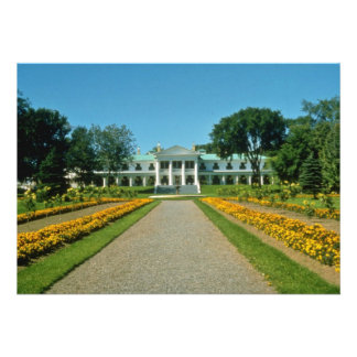 yellow Lt Governor s estate Quebec City Canada Custom Announcement