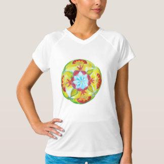 Yellow, Mandala Art T-Shirt