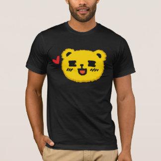 Yellow Manga Bear T-Shirt