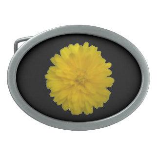 Yellow Marigold Belt Buckle