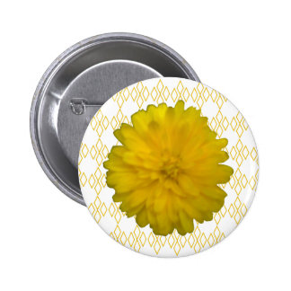 Yellow Marigold Button