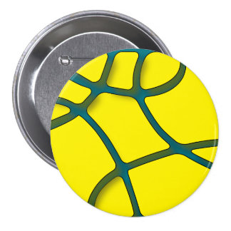 yellow maze Large, 3 Inch Round Button