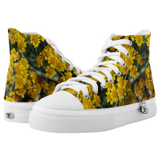 Yellow Mess Printed Shoes