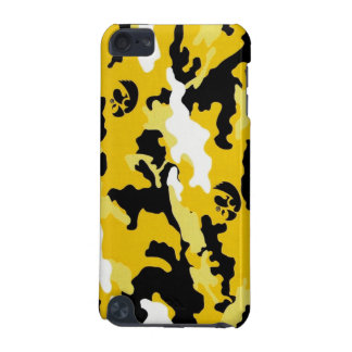 yellow military camouflage textures iPod touch (5th generation) case
