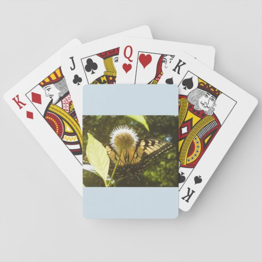 Yellow Monarch Playing Cards