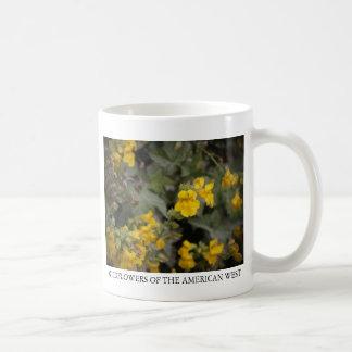 Yellow Monkeyflower Basic White Mug