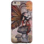 Yellow Moon Gothic Fairy and Faerie Fantasy Art Barely There iPhone 6 Plus Case