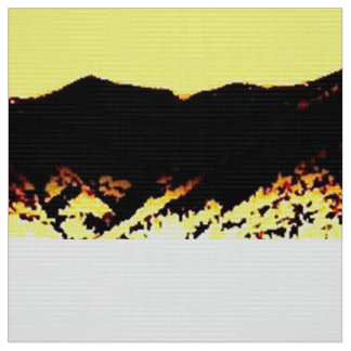 Yellow Mountain Fabric